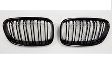 Load image into Gallery viewer, BMW F20 F21 1 Series Kidney Grilles Gloss Black M2 Style
