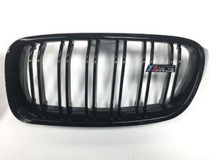 M3 grills gloss black F30 F31 3 Series