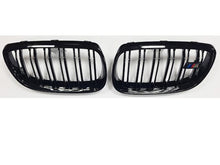 Load image into Gallery viewer, BMW E92 M3 Kidney Grills Black Gloss