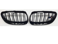 BMW E92 M3 Kidney Grills Black Gloss