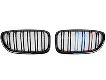 Load image into Gallery viewer, BMW F10 M5 Grill tri colour