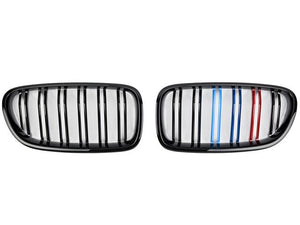 BMW F10 M5 Grill tri colour