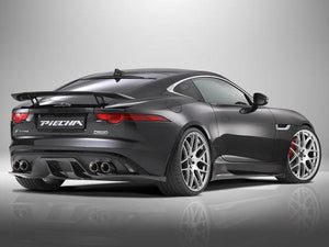 Jaguar F Type Coupe and Cabriolet Quad Exhaust with Chrome Tailpipes for Rear Diffuser