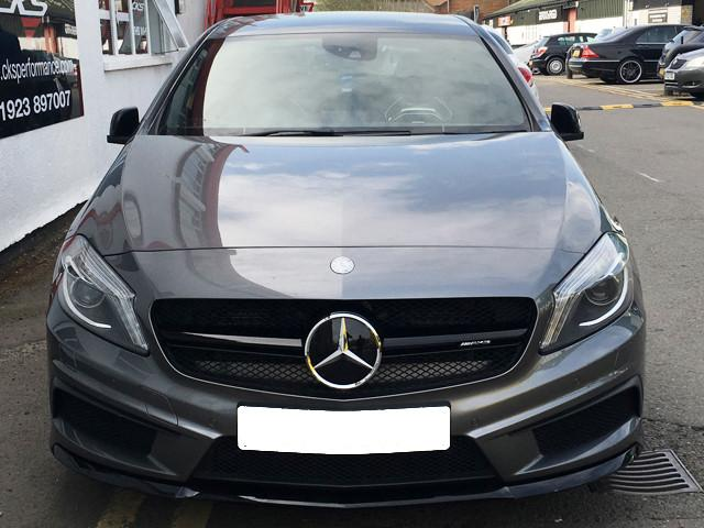AMG A45 grille black