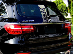 Mercedes GLC Chrome Trunk Trim