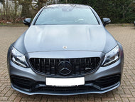 AMG C63 GTS Panamericana Gloss Black AMG C63 ONLY OEM Grille FACELIFT 2019+ MODELS ONLY