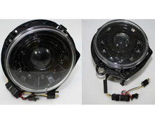 Load image into Gallery viewer, W463 G Wagen LED Headlamps in Black Right Hand Drive Vehicles 1986-2009