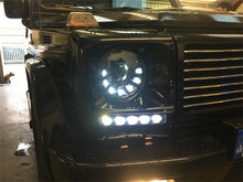 Load image into Gallery viewer, W463 G Wagen LED Headlamps in Black Left Hand Drive Vehicles 1986-2009
