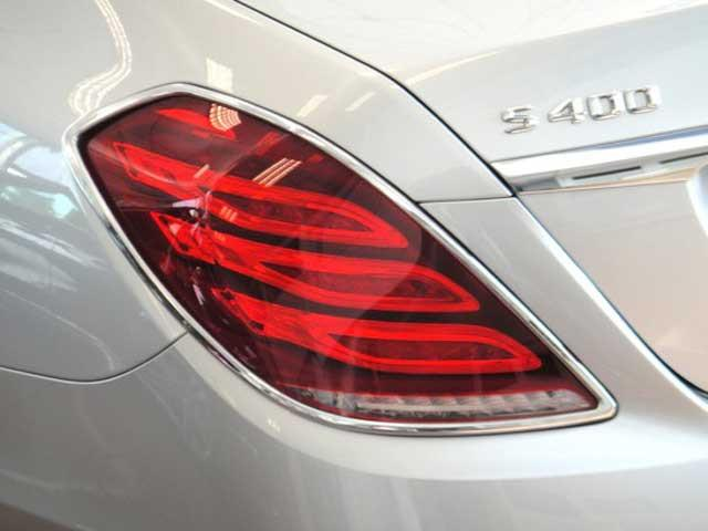 W222 S Class Chrome Tail lamp surrounds Set