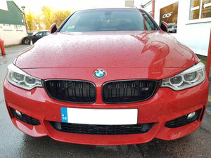 bmw 4 series black grilles