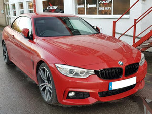 bmw 4 series black grills