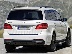 AMG GLS63 Diffuser and Tailpipe Package