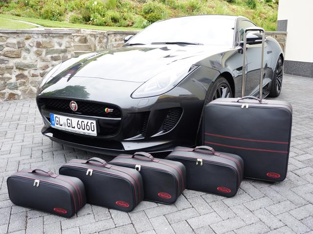 Jaguar F Type Coupe Luggage Set