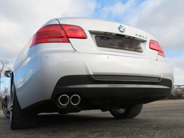 BMW E92 E93 318D 320D Performance Exhaust Twin Tailpipe
