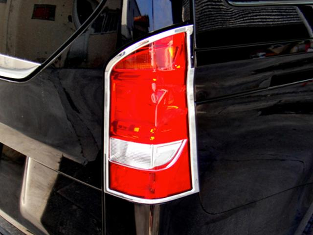 W447 V Class and Vito Chrome Tail lamps Surrounds Set