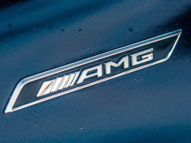 AMG Wing Fender Badge Emblem