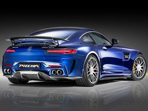 PIECHA AMG GT-RSR Rear apron with carbon diffuser