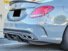 Load image into Gallery viewer, C63 Diffuser Carbon fibre