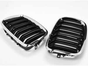 BMW X6 Grill Chrome