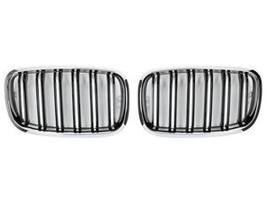 BMW X6 M Grill Chrome