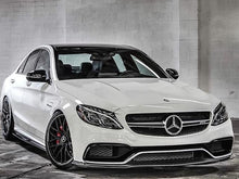 Load image into Gallery viewer, C63 AMG Carbon Fiber Front Spoiler