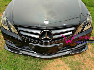 W207 E Class Carbon Fibre Front Spoiler Lip for Pre-facelift Models to 2014