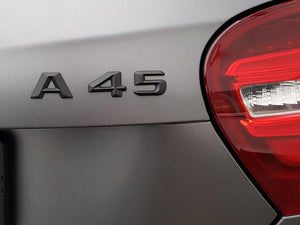 AMG A45 Boot Trunk lid badge Matt Black