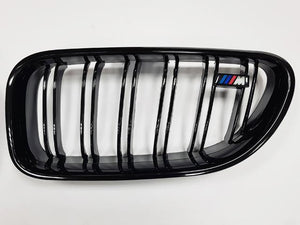 BMW F06 F12 F13 6 Series Kidney Grill Grille Grills Gloss Black M Style