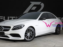 Load image into Gallery viewer, C63 AMG Carbon Fiber Side Skirts