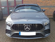 AMG Panamericana Grille Gloss Black W177 A Class Models from April 2018 Onwards
