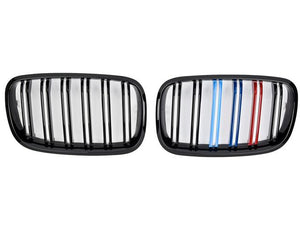 BMW X6M Grill Stripes