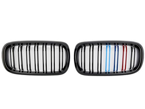 BMW X5M Grill tri colour