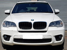 Load image into Gallery viewer, BMW E71 X6 Kidney Grilles Chrome and Black Twin Bar M Style 2007 ONWARD