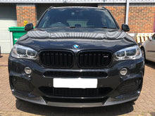 Load image into Gallery viewer, BMW F15 F85 X5 X5M Style Kidney Grilles Grills Gloss Black 2014 ONWARDS