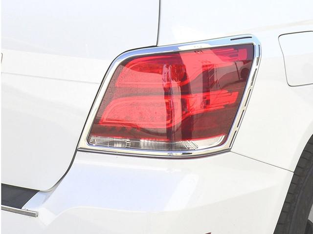 X204 GLK Chrome Tail lamp surrounds 07/2012 to 06/2015