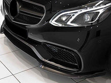Load image into Gallery viewer, AMG E63 Carbon Fibre Front Spoiler Facelift models from 04/2013