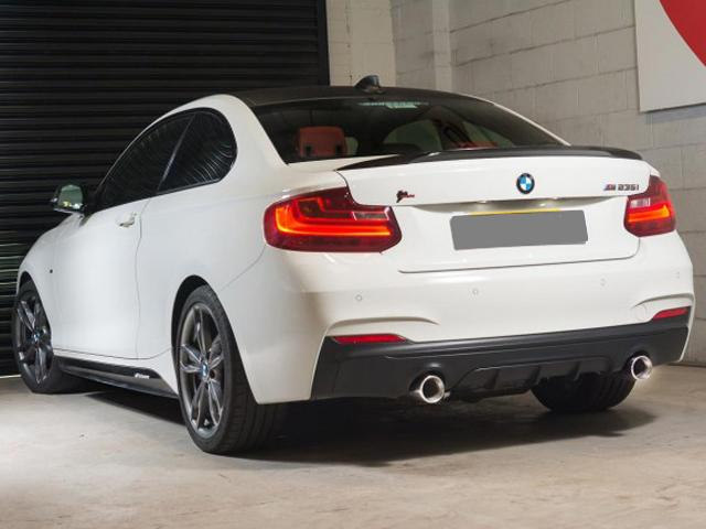 BMW M235i Sport Cat Back Exhaust Resonated