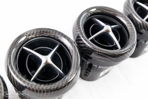 Mercedes SLS Air Vent Set in Carbon fibre