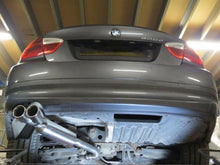 Load image into Gallery viewer, BMW E90 E91 318D 320D Performance Exhaust Twin Tailpipe