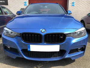 3 series black grilles