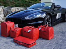Load image into Gallery viewer, Aston Martin DBS Volante Luggage Baggage Bag Case Set Roadster bag