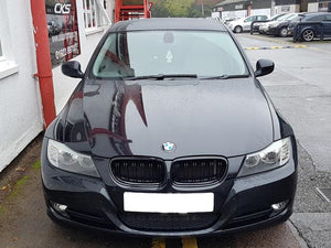bmw e90 black kidney grilles