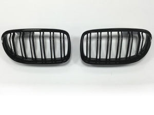 bmw e90 black kidney grills