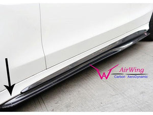 C63 AMG Carbon Fiber Side Skirts