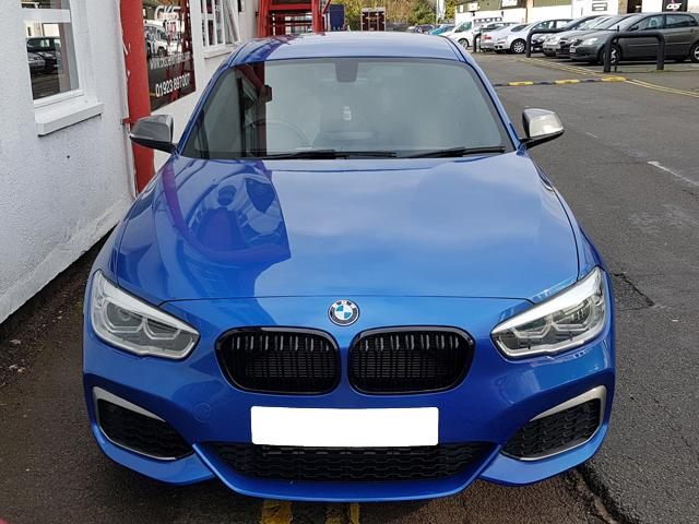 BMW F20 LCI M Performance Black grilles grills