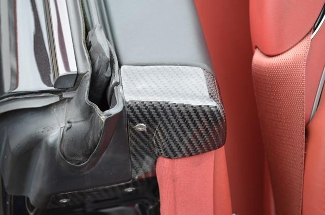 R230 SL Carbon fibre B Pillar Covers