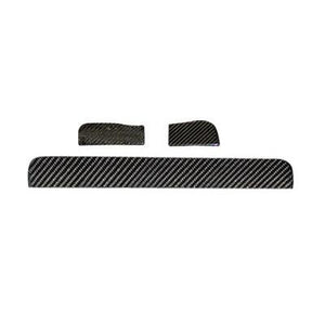 R171 SLK Dashboard trim strips 3-parts in Carbon fibre
