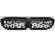 BMW G20 3 Series Kidney Grilles Gloss Black Diamond Grilles