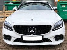Load image into Gallery viewer, AMG C63 GTS 2019 Design Grille NEW FACELIFT LOOK Gloss Black Panamericana Style