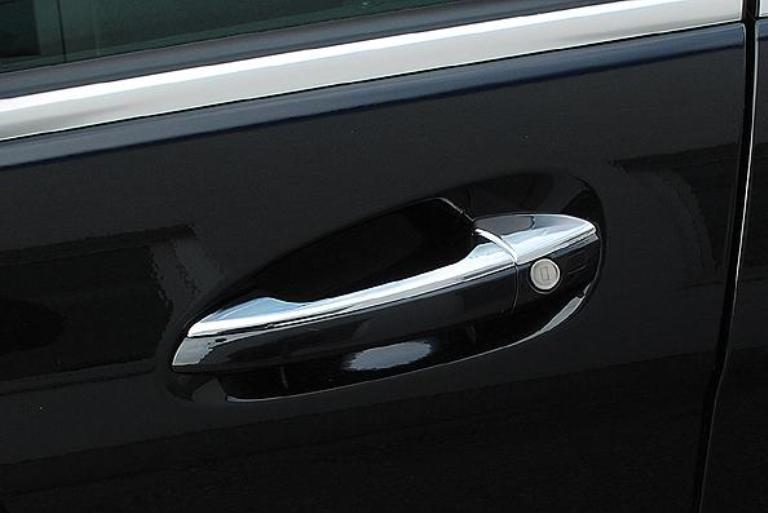 Chrome door handle covers set
